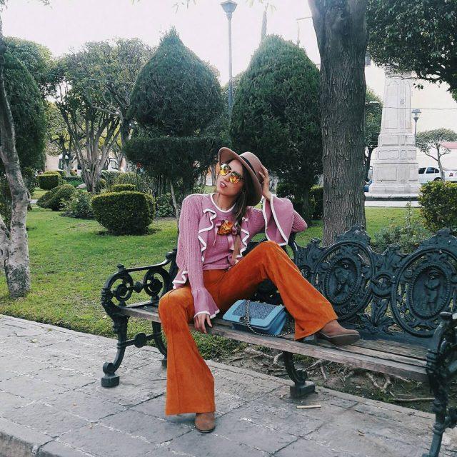 Combinar el color de estos pantalones no es fcil! Perohellip